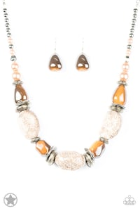 gold-colored necklace with earrings Hyattsville