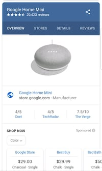Two Google home mini's