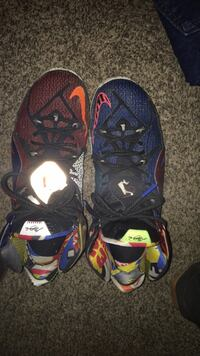 pair of blue-and-red Nike basketball shoes Martinsburg, 25403