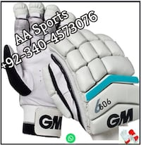 white gray Cricket Gloves, kookaburra Gloves,  , nicolls Gloves, bat, ball Sialkot