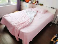 Double size bed with mattress Markham, L6G 0E9