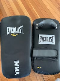 Everlast Kickboxing Set - Gloves and Thai Pads Toronto, M5M 3N4