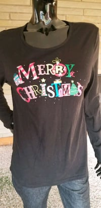 Merry Christmas Long Sleeve LG