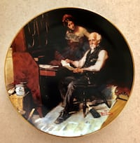 NORMAN ROCKWELL GOLDEN MOMENTS COLLECTION-THE LOVE LETTERS-1989 PLATE Ashburn, 20147
