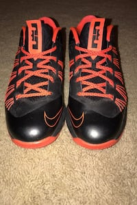Shoes Lebron X Low Black Total Crimson Charlotte, 28277