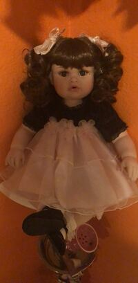 doll in white and brown dress Poway, 92064