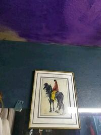 person riding black horse painting Phoenix, 85015