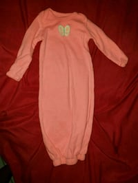 pink and white long-sleeved onesie Donna, 78537