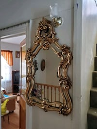 Beautiful vintage mirror Burlesque style mint
