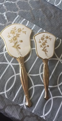 antique Vintage brush and mirror set Burnaby