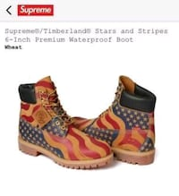 Supreme Timberland boots. NEW! Sz 10.5 Sugar Land, 77498
