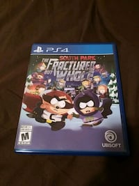 SOUTH PARK THE FRACTURED BUT WHOLE PS4 game case Amherstview, K7N 1V3