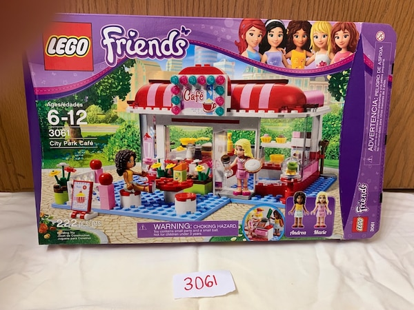 Used Lego Friends 3061 City Park Cafe For Sale In Mastic Letgo