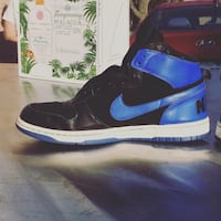 Nike Dunk High blue and black  Brampton, L6S 2T8