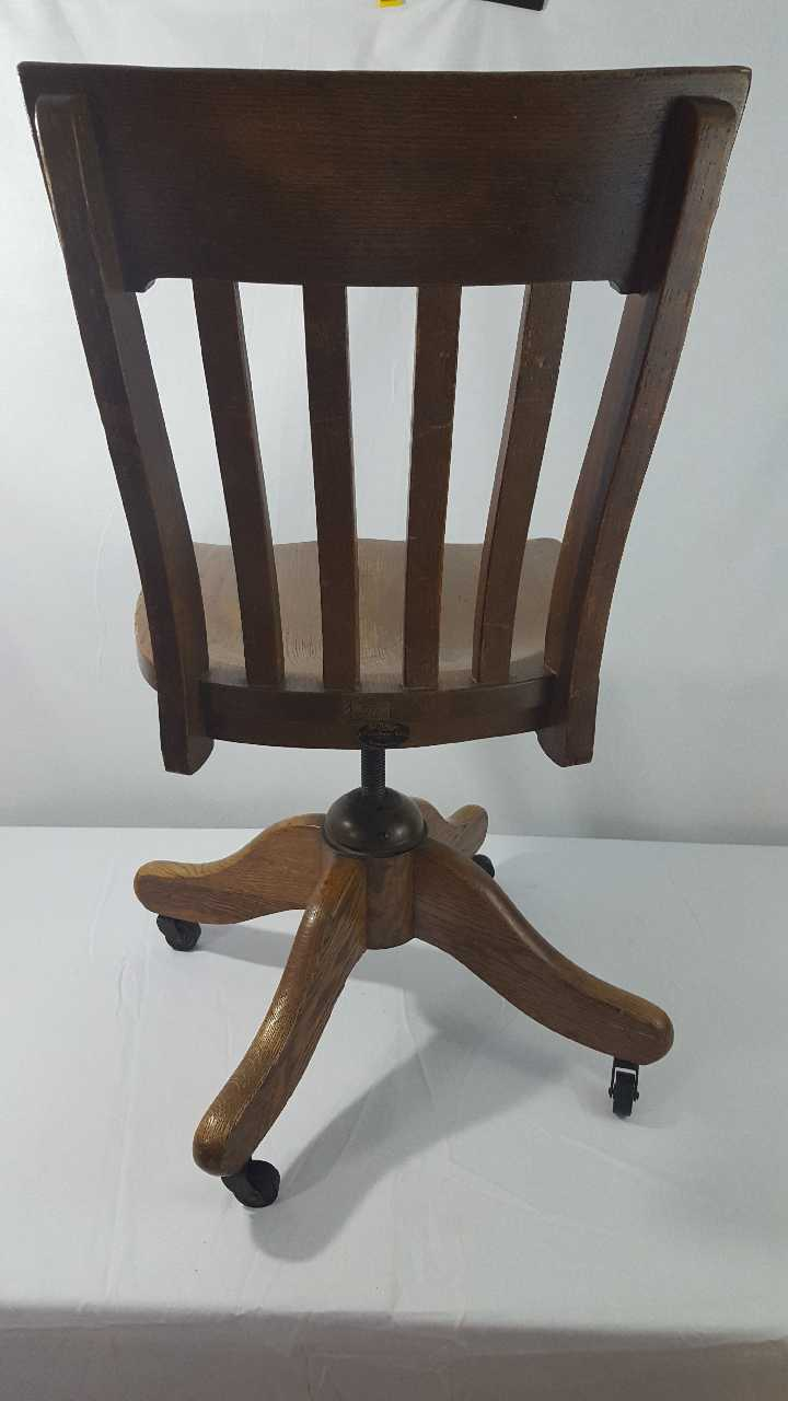 used antique bankers accountants chair rare piece for sale in rh gb letgo com