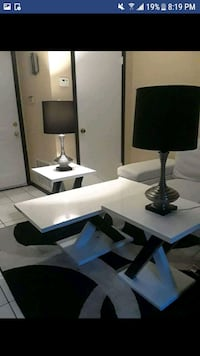 3 tables and 2 lamps marble  Laredo, 78041