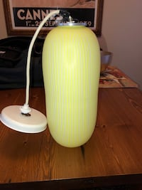 Vintage Vinini Glass Lamp - Made in Italy Los Angeles, 90034