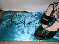 Blue Tango Shoes made by Turquoise (Size 36EU/6US) Warrenton, 20187