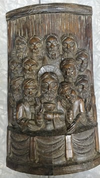 Last supper carving Toronto