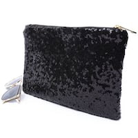 nip Sequin Clutch Bag black Burnaby