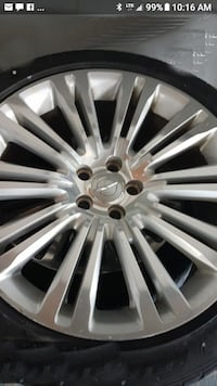 245 45 20 rims with tires