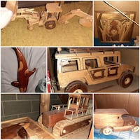 Hand made wood crafts