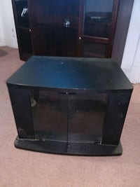 black wooden TV stand with mount East Chicago, 46312