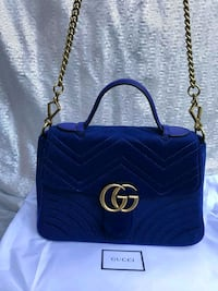 Gucci Velvet Marmount Handbag  Washington, 20011