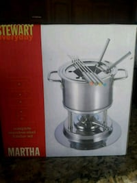 Stainless-Steel Fondue Set