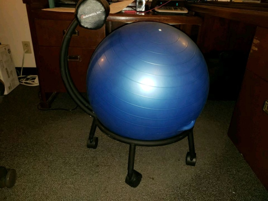 Superieur Yoga Ball Desk Chair   Chair Stand Only