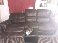 Leather couch and recliner for sale Fort Myers, 33901