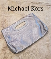 MICHAEL KORS metallic clutch purse Amherstview, K7N 1Y1