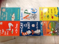 6 Assorted kids Books in excellent conditions very clean like brand new each $5 or all $30