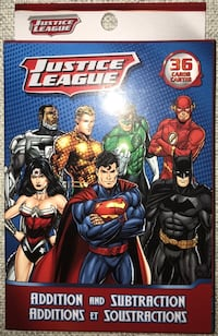 Justice League addition and subtraction cards 546 km