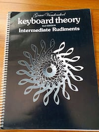 Piano theory book - intermediate  Vancouver, V5W 1A4