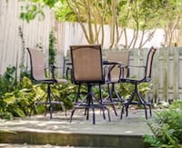 PENDING SALE - Bar Height Patio Set! 4 Chairs Included Avondale Estates