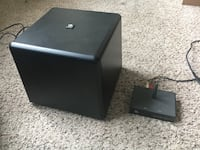 Boston Acoustic Tevee 2.0 wireless subwoofer with transmittet