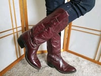 West California, Mexico,  ox blood color size 8 Woodstock, N4S 7B1