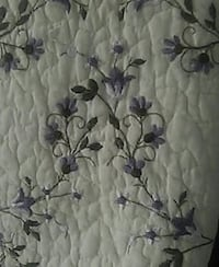 Queen size quilted and