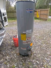 gray  water heater good condition.    Hobart