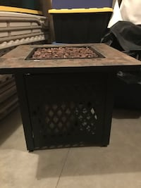 Gas Outdoor fireplace