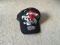 Ed Hardy Love Kills Hat Silver Spring