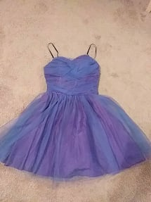 Purple&blue tulle dress