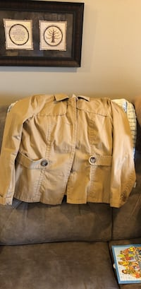 Tan old navy button up pea coat Boise, 83704