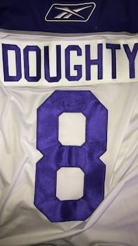 Signed LA kings Drew Doughty rookie jersey London, N6A