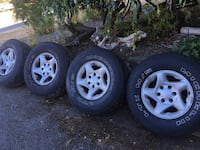 2001 Toyota Tacoma wheels and tires