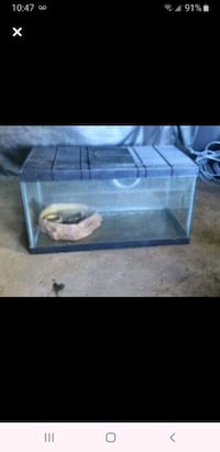 Reptile/Fish Tank with Cage Lid Toronto, M3L