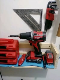 Milwaukee m18 drill with battery and charger