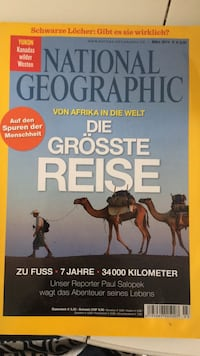 National geographic 03/2014 8428 km