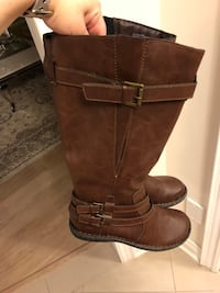 Brand new brown leather boc boots size 9 Vaughan, L4H